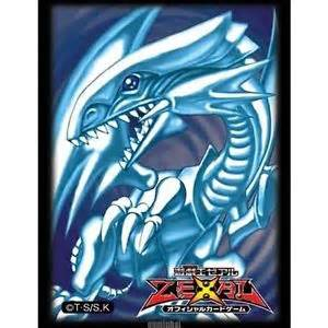 yugioh sleeves blue ebay