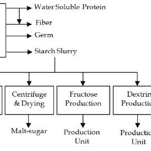 Phase Diagram For Potato by Process Flow Diagram For A Typical Corn Processing