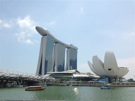 Marina Bay Sands Singapore Building Architect