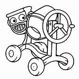 Builder Bob Coloring Dizzy Printable Drawing Roley Roller Spud Road Pickles Farmer Toddler Getdrawings Scarecrow Paintingvalley sketch template