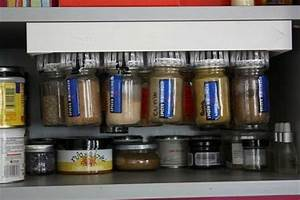Carrousel à épices : voici un exemple d 39 installation du carrousel pices winchef dans un placard plus de flacons ~ Teatrodelosmanantiales.com Idées de Décoration