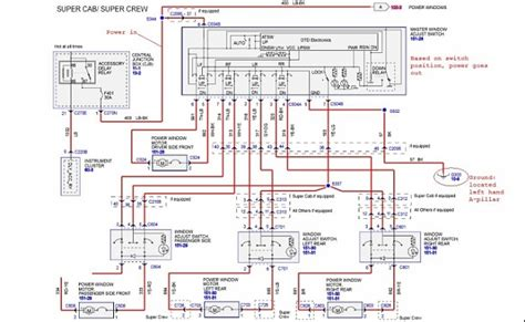 Power Window Wiring Diagram Ford Truck by Window Malfunction Ford F150 Forum Community Of Ford