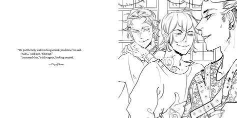 City Of Bones Coloring Pages