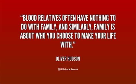 blood family quotes quotesgram