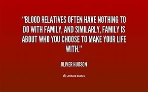 Blood Family Qu... Family Blood Quotes