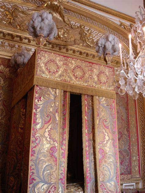 chambre du roi versailles chateau de versailles