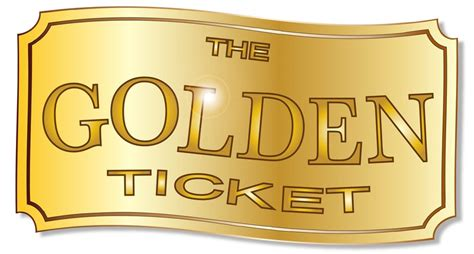 Golden Ticket Printable Template by Free Printable Raffle Tickets Template Template Business
