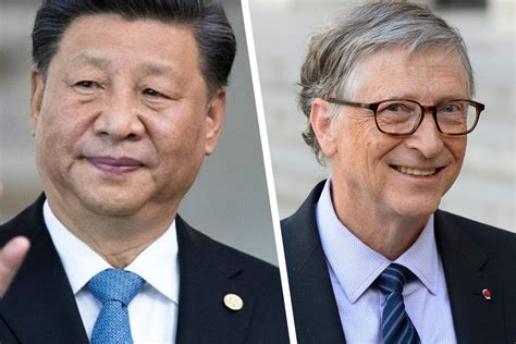 China's Xi writes thank you note to Bill Gates for virus ...