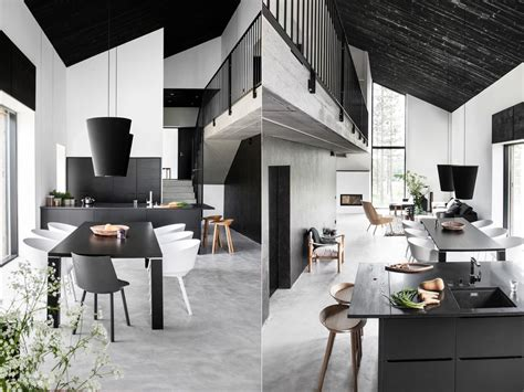 Black Dining Room Set And Interior Design Ideas Photos by Scandinavian Dining Room Design Ideas Inspiration