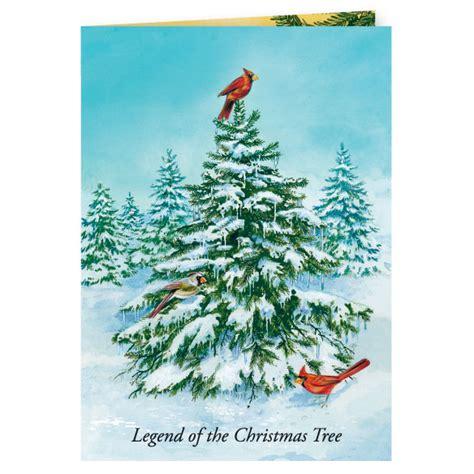 legend of the christmas tree christmas card set of 20