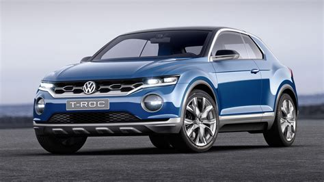 Vw Troc Compact Crossover Set For 2019 Launch In Us