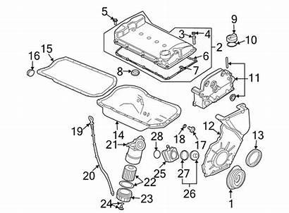 Engine Volkswagen Valve Vr6 Parts Upper Seal