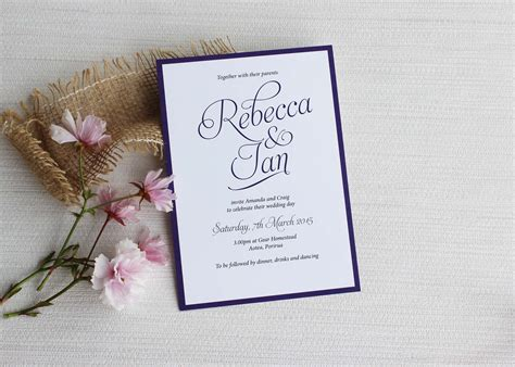 Simple Script  Ee  Wedding Ee   Invitations Be Guest