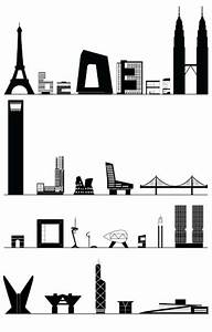Shinya Iwaki's architectural alphabet, with scale drawings ...