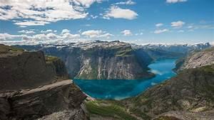 Wallpaper, Nature, Landscape, Mountains, Norway, River