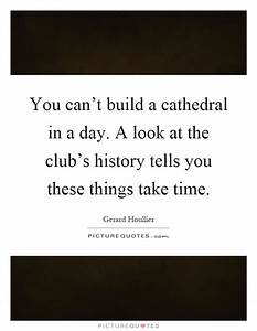 You can't b... Cathedral Quotes