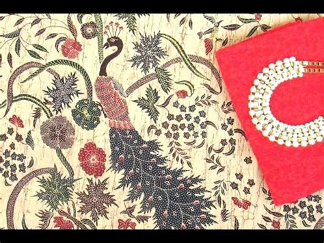 kain batik cap colet merak batik merak madura jual kain batik murah