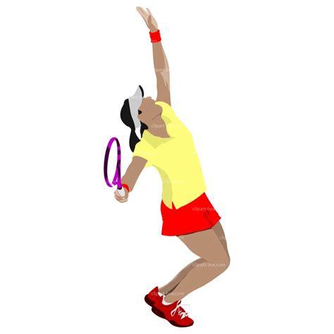 girl playing tennis clipart  clip art