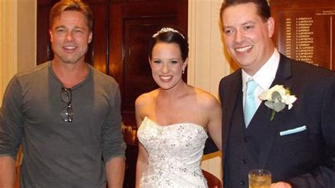 Brad Pitt Crashes Couple's Wedding | Entertainment Tonight