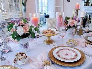 Mother's Day Decoration Ideas: A Vintage Brunch Table Setting