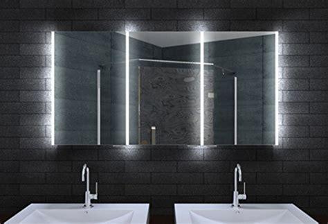 Badezimmer Spiegelschrank Mit Beleuchtung 140 Cm by Design Spiegelschrank Mit Led Beleuchtung Und