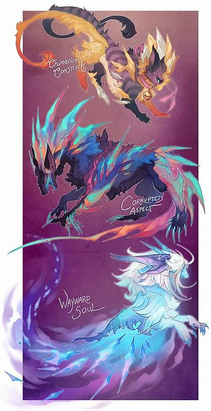 Creatures Deviantart Closed Kem Fantasy Al Homunculi
