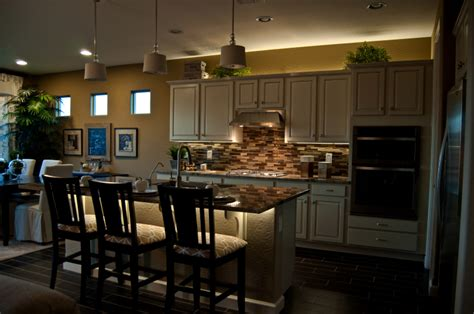 led counter lighting kitchen 7 ways to make your kitchen island pop 8975