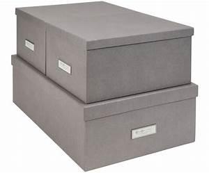 Schöne Aufbewahrungsboxen Mit Deckel : aufbewahrungsboxen set in grau bigso box of sweden westwingnow ~ Bigdaddyawards.com Haus und Dekorationen