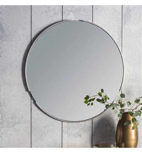 fitzroy  silver wall mirror cm  cm  mirrors