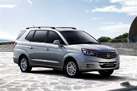 2018 Ssangyong Rodius Car Photos Catalog 2018