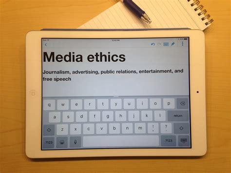 media ethics  summer courses