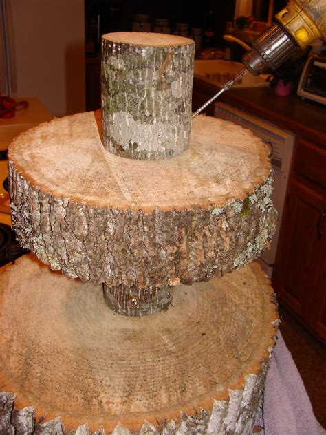 cake cupcake stand guest project throw a rustic wedding make a diy tree 2196