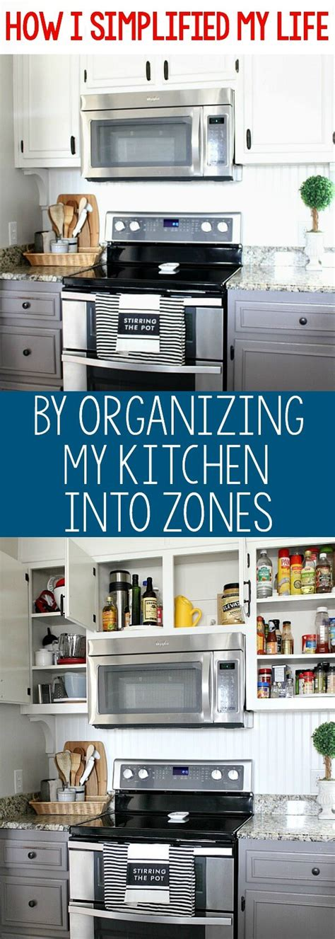 how do i organize my kitchen how i ve simplified my by organizing my kitchen into 8433