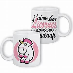 Mug Licorne Pas Cher : mug j 39 aime les licornes beaucoup beaucoup chibi kawaii ~ Teatrodelosmanantiales.com Idées de Décoration