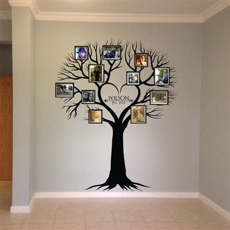 17 best ideas about family tree wall on