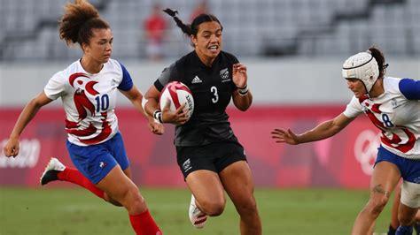 Regbijā-7 sievietēm triumfē Jaunzēlande, Fidži otrā medaļa Tokijā - Tokija 2020 - Sportacentrs.com