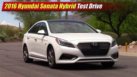 hyundai sonata hybrid test drive youtube