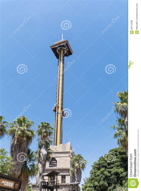 the hurakan condor ride in port aventura amusement park editorial stock photo image 68115398