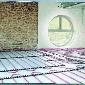 Plancher Chauffant Basse Température : syst me de plancher chauffant basse temp rature avec tube ~ Melissatoandfro.com Idées de Décoration