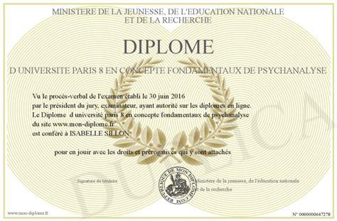 Diplome D Universite Paris  En Concepte Fondamentaux De Psych Yse