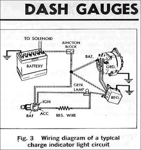 factory ammeter wiring fordificationcom