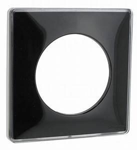 Plaque Schneider Odace : plaque schneider electric odace you 1 poste noir liser ~ Dallasstarsshop.com Idées de Décoration