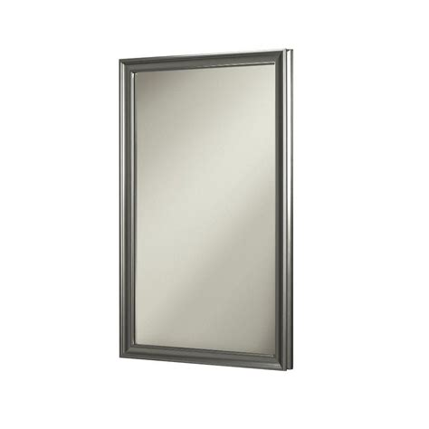 home depot recessed medicine cabinets with mirrors nutone ashton 15 75 in w x 25 5 in h x 5 in d recessed