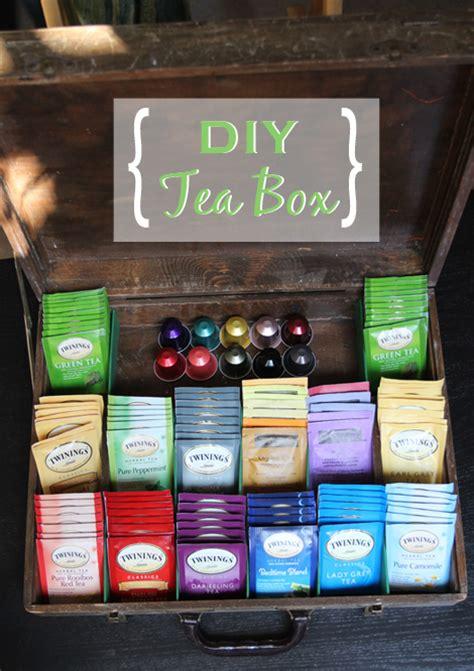 diy tea box