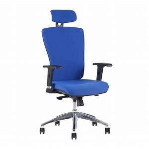 Bürostuhl Mit Kopfstütze : b rostuhl mit kopfst tze 2621 blau halia chr sp globoffice ~ Markanthonyermac.com Haus und Dekorationen