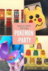 Party Deko Tipps : pokemon party zum kindergeburtstag mit deko spielen kuchen mamaskind ~ Whattoseeinmadrid.com Haus und Dekorationen