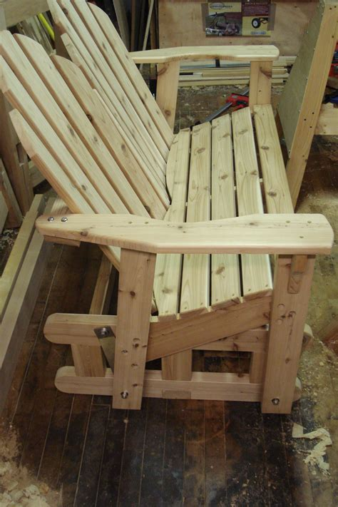 glider bench pt  goods  woodwork