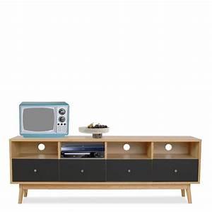 Meuble Tv 90 Cm : meuble tv 90 cm largeur 11 id es de d coration int rieure french decor ~ Teatrodelosmanantiales.com Idées de Décoration