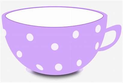Cup Tea Clip Clipart Drawn Seekpng