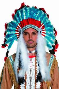 Costume D Indien : deluxe indian headdress for adults hats and fancy dress costumes vegaoo ~ Dode.kayakingforconservation.com Idées de Décoration